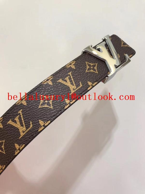 Sell 1:1Louis Vuitton Belt Top Quality LV Printed Logo Belt 100% cowhide quality 8