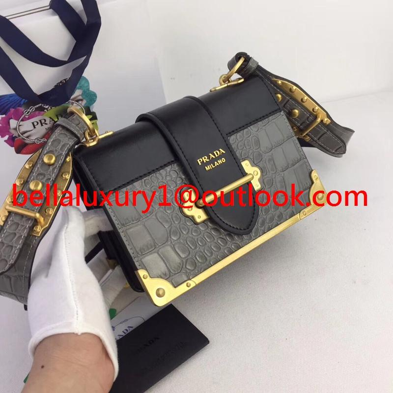 Wholesale Prada straddle bag lady leather single shoulder bag 1:1 Prada bag 20