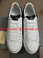 Sale Alexander McQueen Shoes Top Quality McQueen leather Willow Nail couple Shoe