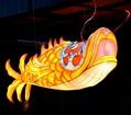 Chinese festival fish lantern with LED light  1