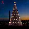 Outdoor giant waterproof Christmas tree with led lights