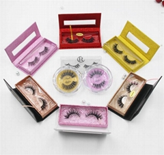 create your own brand siberian mink strip lashes 3d private label mink eyelashe