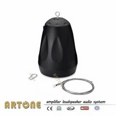Pendant speaker for 70v high ceiling hanging sphere pa speaker HS-743
