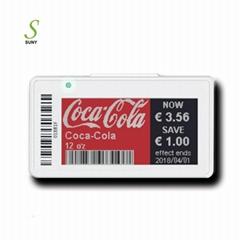 E-ink Color Epaper Display Digital Electronic Shelf Labels ESL Price Tag