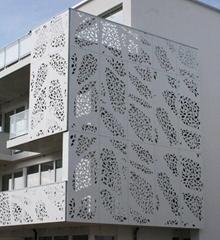 Jyf0036 Small Decorative Aluminum Folding Screen Room Divider