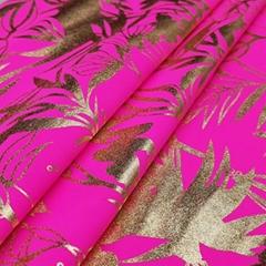 200gsm foil printing bacterial custom printed polyamides bikini fabric