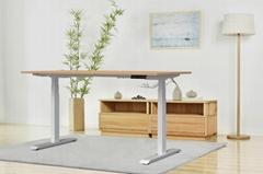 Aoke height adjustable desk frame