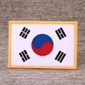 South Korea Flag Custom Patches 1