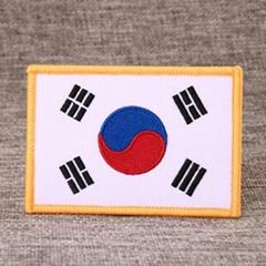 South Korea Flag Custom Patches