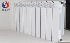 高壓鑄鋁暖氣片優點ur7004-500壓鑄鋁散熱器特點