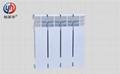 高壓鑄鋁暖氣片優點ur7004-500壓鑄鋁散熱器特點 2