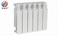 高壓鑄鋁暖氣片優點ur7004-500壓鑄鋁散熱器特點 3