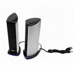 Aluminum profile for loudspeaker box