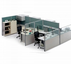Aluminum profiles for office partition