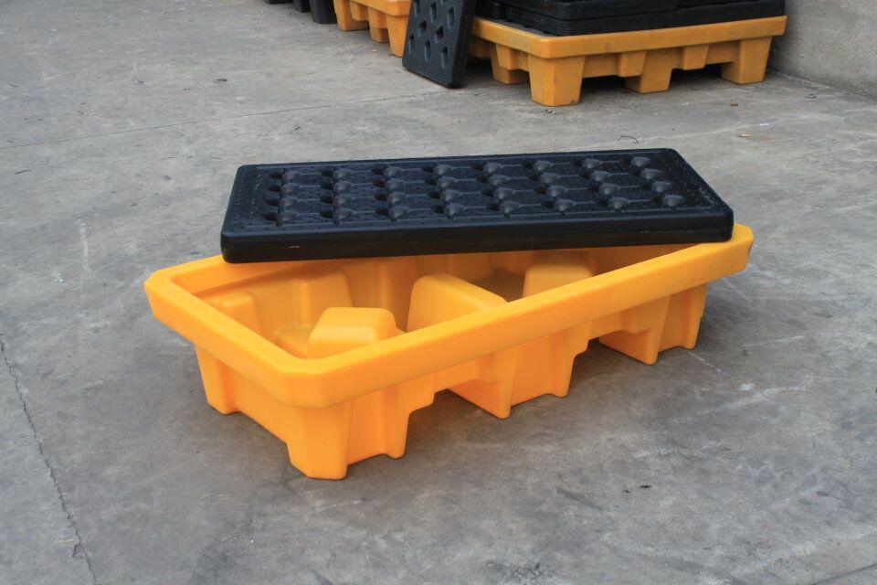四桶化學品承載托盤 盛漏卡板 防漏液托盤 3