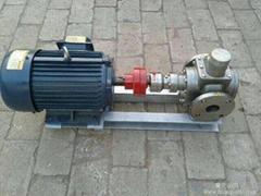 红旗高温泵厂华潮牌石蜡油泵齿轮泵