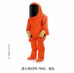 德爾格CPS 7900 氣密型化學防護服
