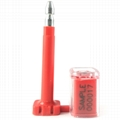 Transparent High Anti-Tamper Security Transparent Bolt Seal for Cargo Containers  2