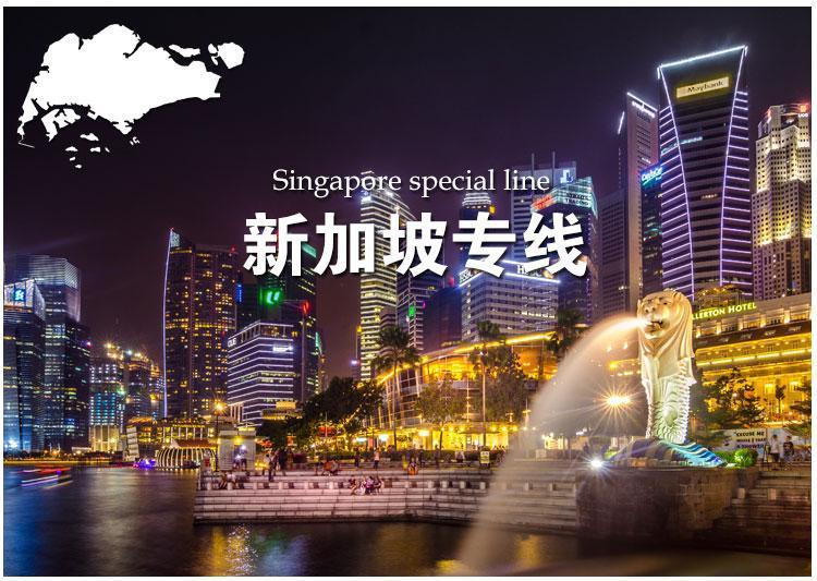 GSC全航国际海运搬家双清到门转运中国到新加坡可包税包清关 1