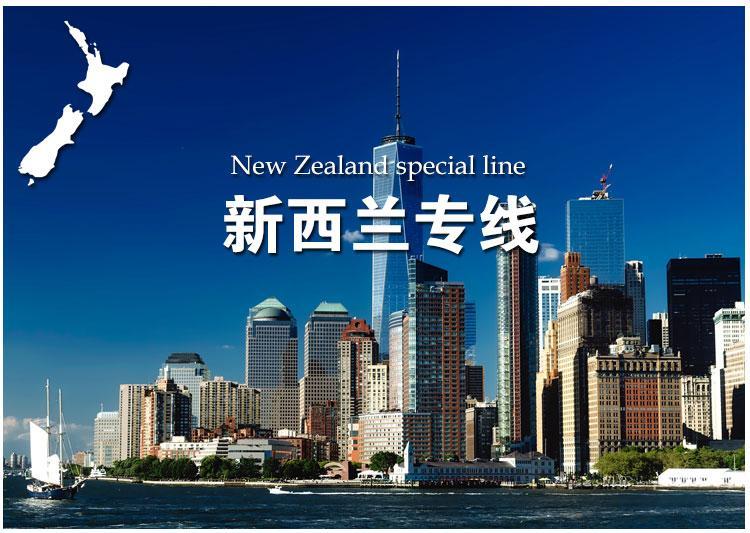 GSC全航國際海運搬家雙清到門轉運中國到新西蘭可包稅包清關 1