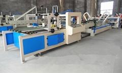 automatic corrugated carton folder gluer