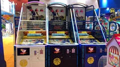 Coin Operated Luxury Street Basketball Tickets Redemption Game