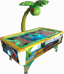 Coin-operated Coconut Air Hockey Table Tickets Redemption Game