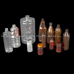 Plastic PET bottle preform of mineral water