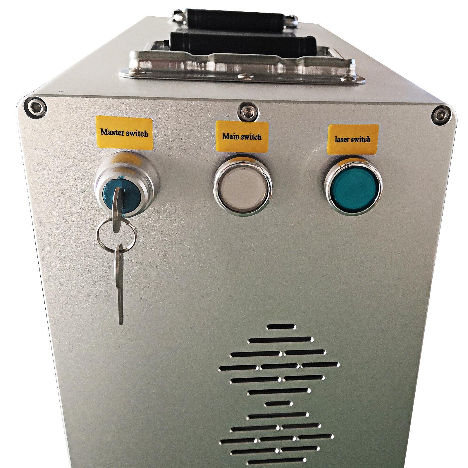 激光光纤打标机20W 30W 50W 激光打标机 4