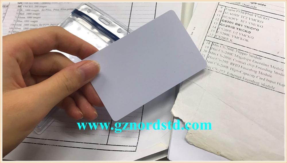 Plain PVC Card