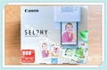 Canon Selphy Color Ink Paper Set Kp-108IN 108 4x6 Sheets with 3 inks 4