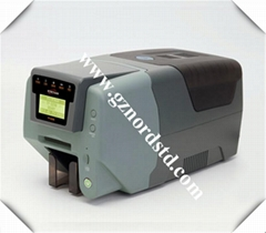 Pointman TP9200 plastic pvc id card printer with one TP-9200 YMCKO color ribbon