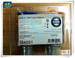 Fargo 084051 YMCK Color Ribbon for HDP5000 Printer