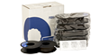 Printronix 107675-007 Extended Life Spool Ribbon, 50M CHAR, 6-Pack (P5000 Text)