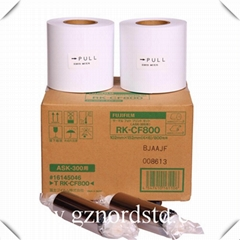 FUJIFILM ASK-300 Color Dye Sub Digital Photo Printer ribbon and Photo Paper