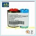 Compatible HiTi CS200e YMCKO 400 Images Ribbon work on cs-200e card printer