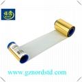 Compatible ZEBRA 800015-106 gold monochrome Ribbon 1000 Images for zebra P330i