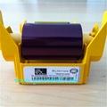 original 800033-340CN YMCKO Full Colour Ribbon With Overlay Panel 280 Prints