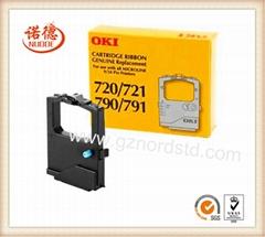 Fabric Black Ink Ribbon Cassette for OKIDATA Microline ML 720/721/790/791/420