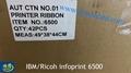 Ultra Capacity Ribbon 41U1680PTX spool ribbon for IBM Ricoh Infoprint 6500V 7