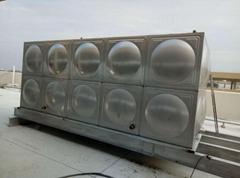 玻璃鋼水箱 不鏽鋼成品水箱 高樓水箱無洩漏