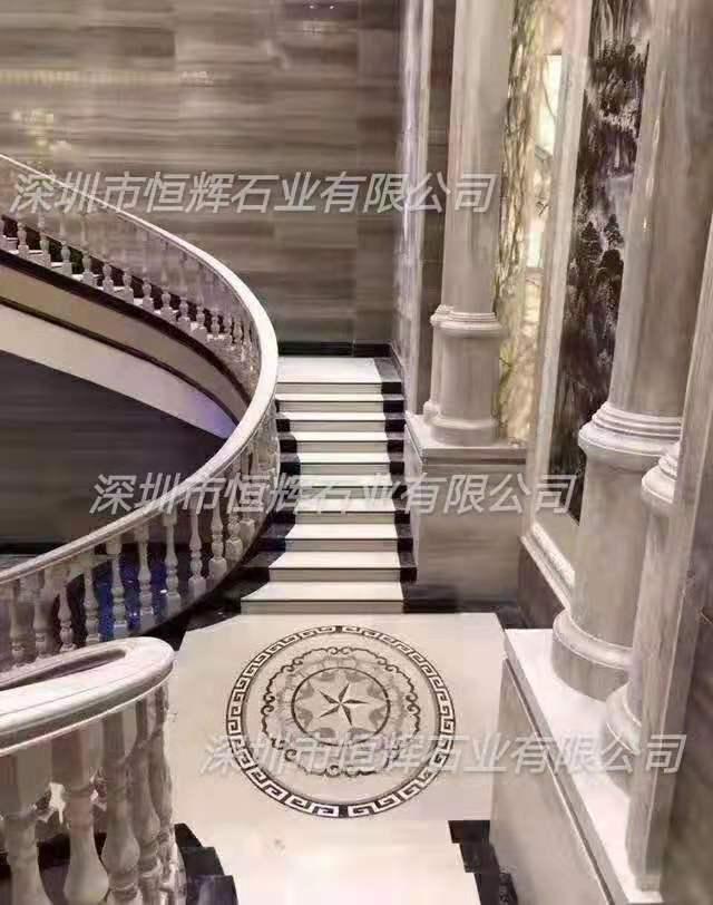 豪华别墅大理石阶梯 1