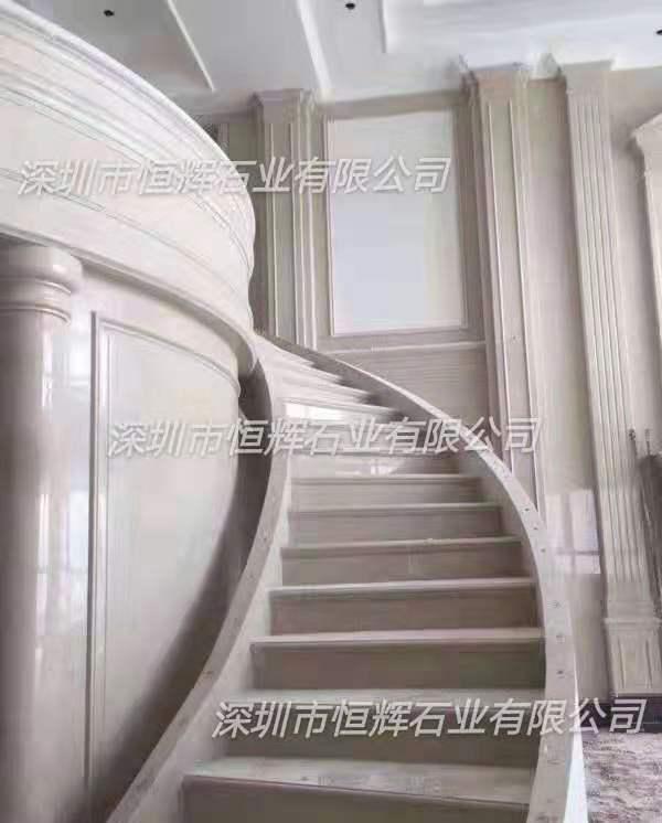 豪华别墅大理石阶梯 2