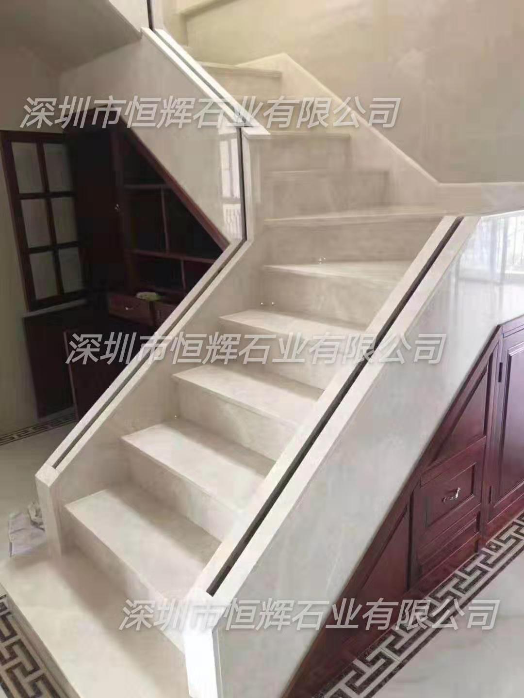 豪华别墅大理石阶梯 3