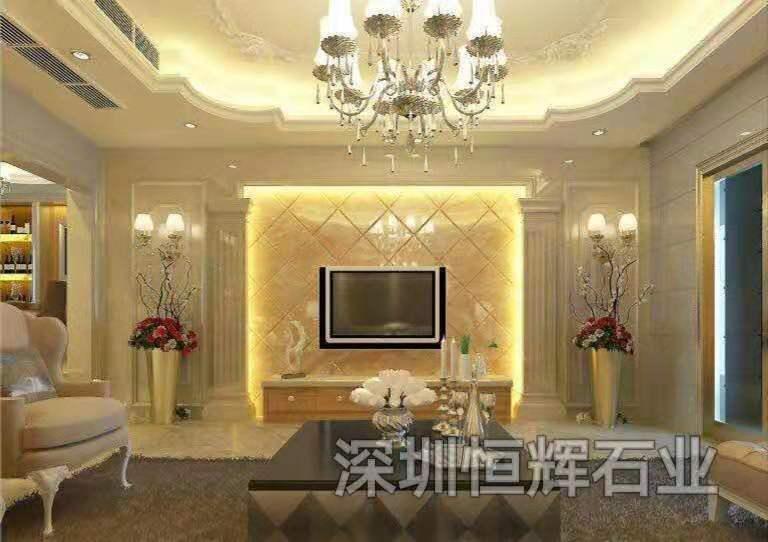 深圳大理石材-木纹玉大理石 3