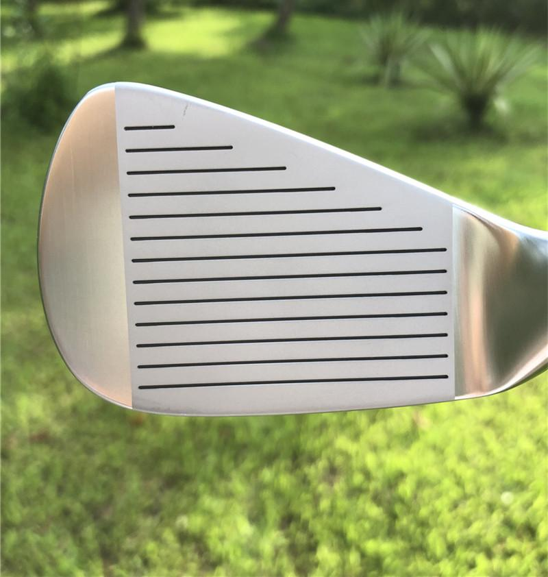 Crazy SBi-02 forged golf irons in Chrome color  3