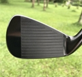 Crazy SBi-02 forged golf irons in Black color
