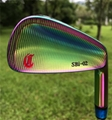 Crazy SBi-02 forged golf irons in irisated color