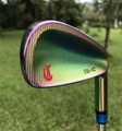 Crazy SBi-02 forged golf irons in irisated color  2