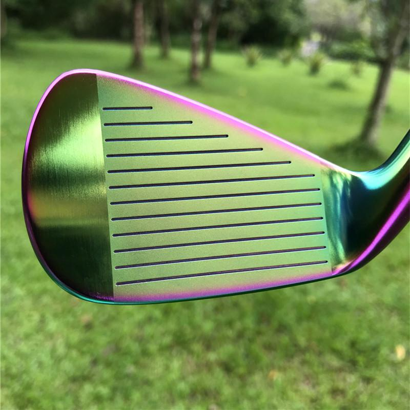 Crazy SBi-02 forged golf irons in irisated color  4